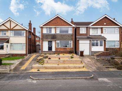 3 Bedrooms Detached House for sale in Revelstoke Way, Rise Park, Nottingham, Nottinghamshire