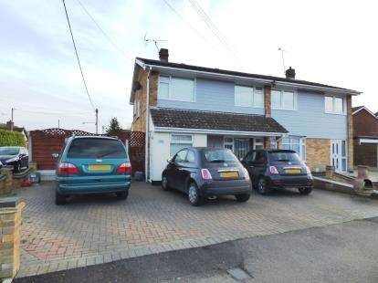 3 Bedrooms Semi Detached House for sale in Canvey Island, Essex