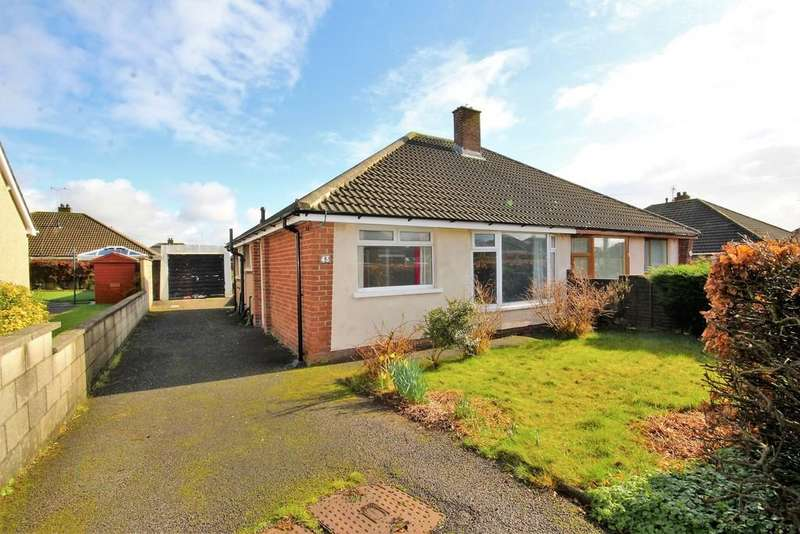 2 Bedrooms Semi Detached Bungalow for sale in 43 Rydal Avenue, Barrow-In-Furness