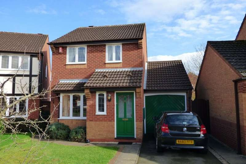 3 Bedrooms Detached House for sale in Aintree Close, Branston