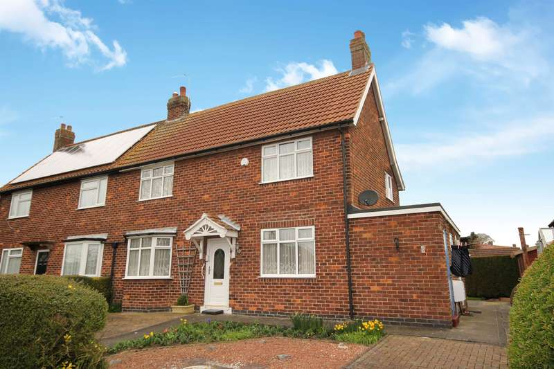3 Bedrooms Semi Detached House for sale in Manor Drive, Dunnington, York, YO19 5QR
