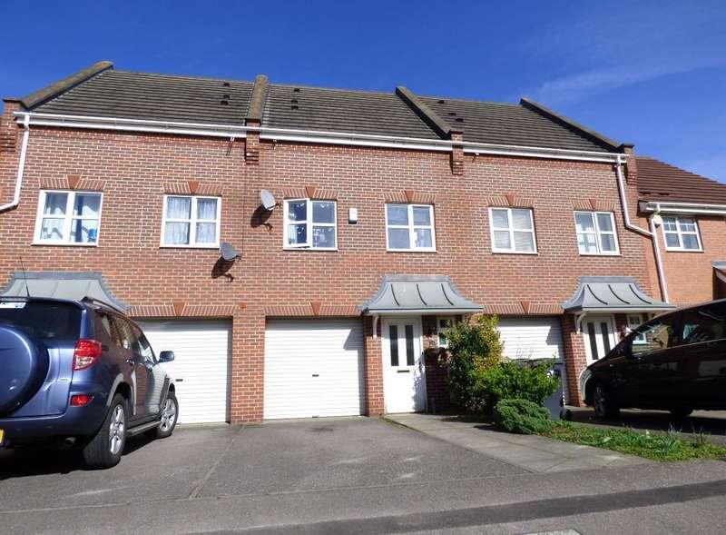 3 Bedrooms Town House for sale in Haynes Road, Bedford, MK42 9PG