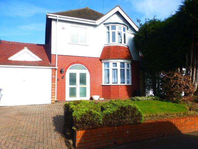 3 Bedrooms Detached House for rent in Elm Tree Road, Harborne, Birmingham, B17 9AP