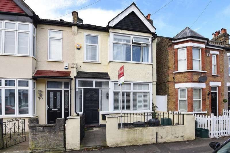 4 Bedrooms Terraced House for sale in Sydney Road, Raynes Park, SW20