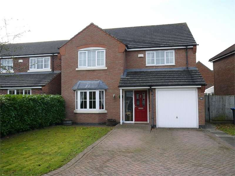 4 Bedrooms Detached House for sale in Burrough Way, Lutterworth, Leicestershire