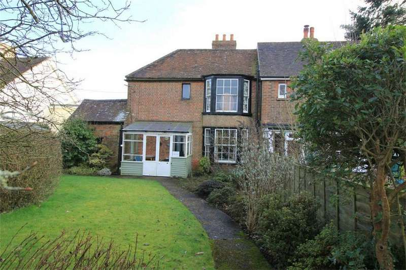 2 Bedrooms Semi Detached House for sale in Caldbec Hill, BATTLE, East Sussex
