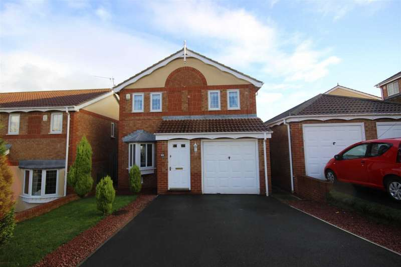 3 Bedrooms Detached House for sale in Blackburn Close, Bearpark