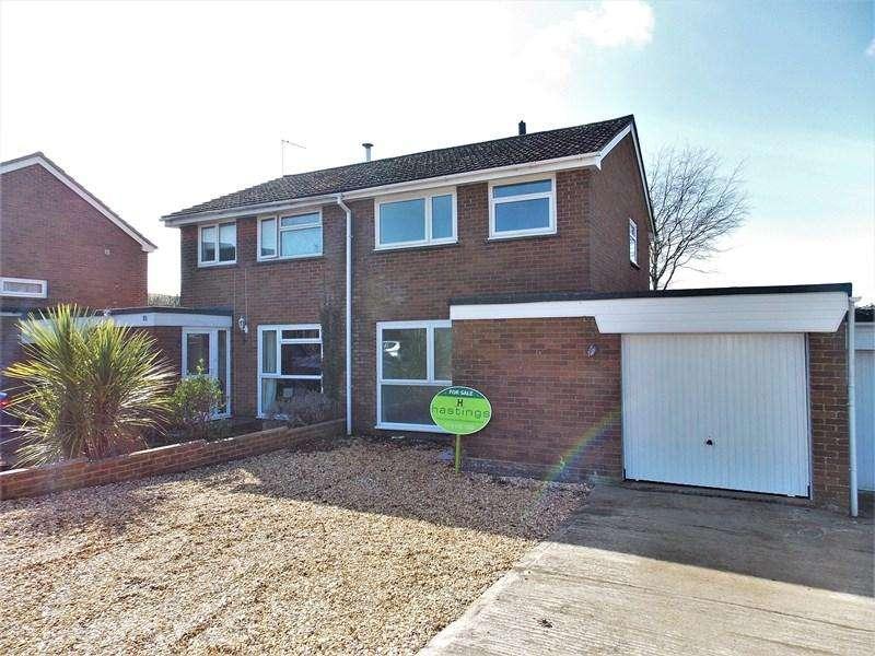 3 Bedrooms Semi Detached House for sale in Lynchet Close, Market Lavington, Devizes