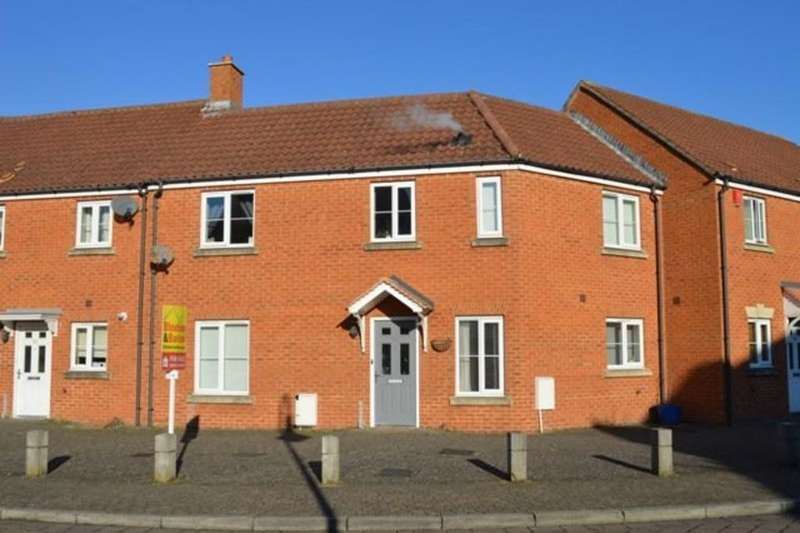 3 Bedrooms Terraced House for sale in Worle Moor Road, Weston-super-Mare