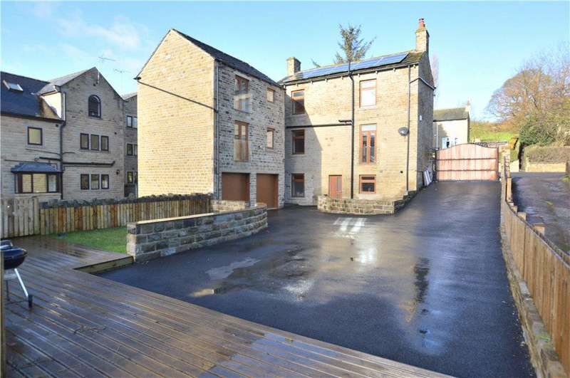 4 Bedrooms Semi Detached House for sale in Putting Mill Mews, Wakefield Road, Denby Dale, Huddersfield, West Yorkshire