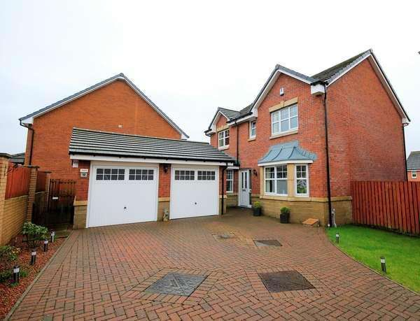 4 Bedrooms Detached House for sale in 13 Cambuskeith Drive, Kilmarnock, KA1 2RX
