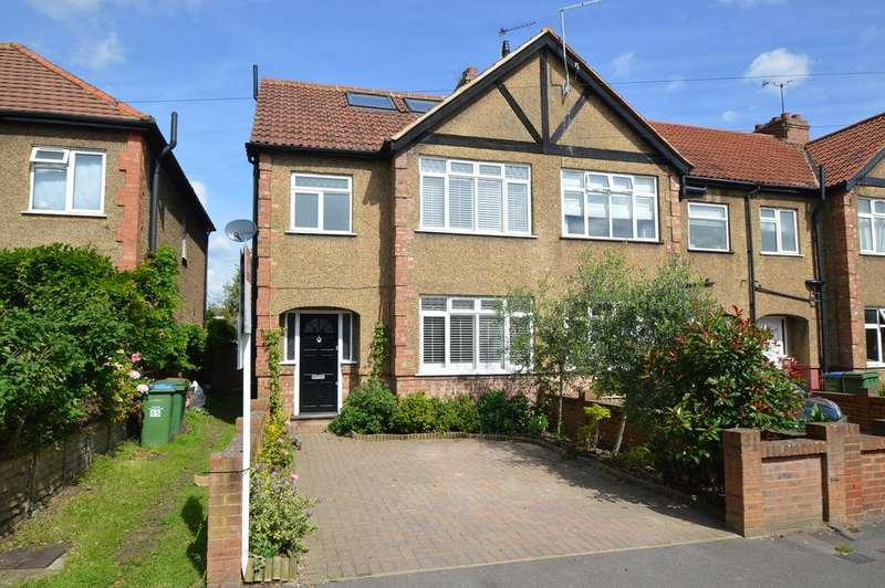 4 Bedrooms Semi Detached House for sale in Kings Road, WALTON ON THAMES KT12
