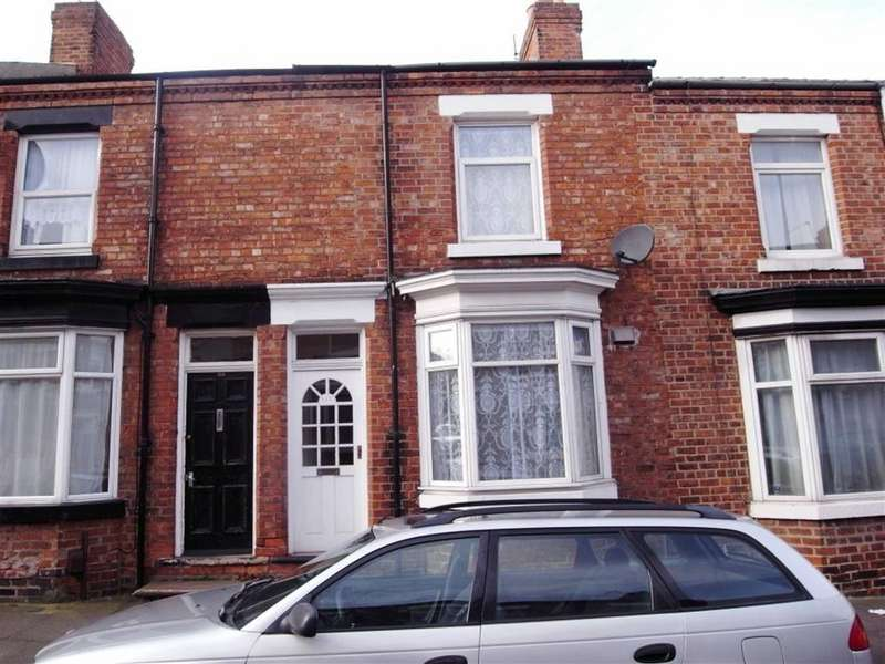 2 Bedrooms Terraced House for sale in Salisbury Terrace, Darlington