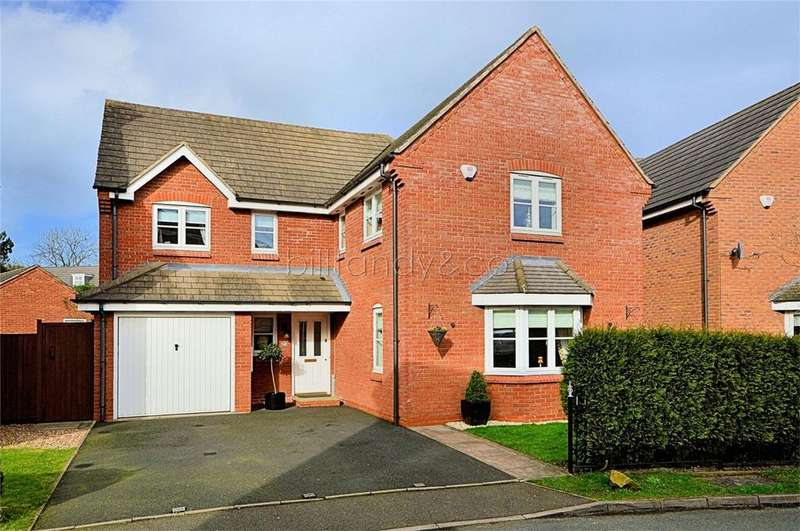 4 Bedrooms Detached House for sale in Nightingale Walk, Burntwood, Staffordshire