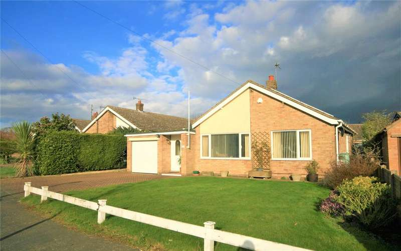 3 Bedrooms Detached Bungalow for sale in Meadow Rise, Saxilby, LN1
