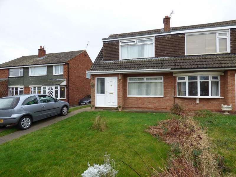 3 Bedrooms Semi Detached House for sale in Auckland Way, Stockton-On-Tees, TS18
