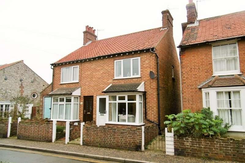 2 Bedrooms Semi Detached House for sale in Sheringham, Norfolk