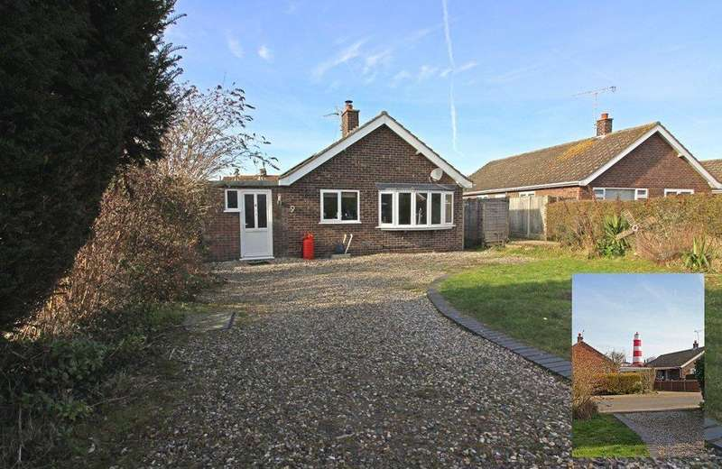 3 Bedrooms Detached Bungalow for sale in Lighthouse Close, Happisburgh