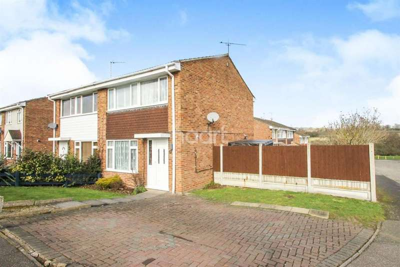 3 Bedrooms Semi Detached House for sale in Collingwood Close, Braintree