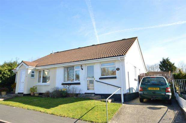 2 Bedrooms Semi Detached Bungalow for sale in Ash Road, Kingsteignton, Newton Abbot, Devon