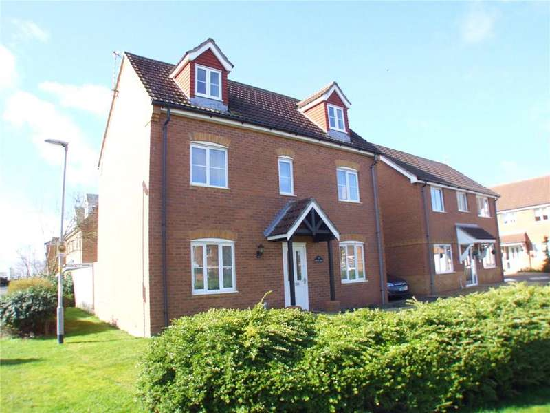 4 Bedrooms Detached House for sale in Barley Grove, Deeping St. Nicholas, Spalding, Lincolnshire, PE11