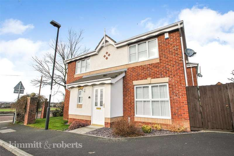 3 Bedrooms Detached House for sale in Bishops Wynd, Houghton le Spring, Tyne and Wear, DH5