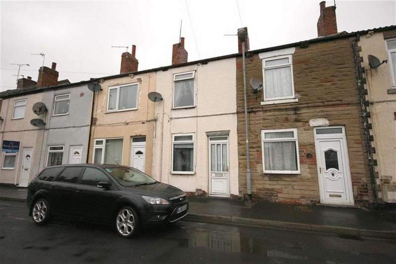 2 Bedrooms Terraced House for sale in Crossley Street, Featherstone, Pontefract, West Yorkshire, WF7