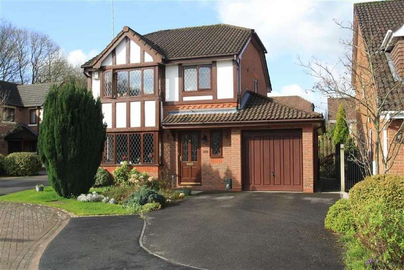 3 Bedrooms Detached House for sale in Moran Close, Wilmslow