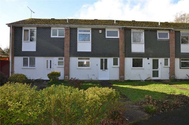 3 Bedrooms Terraced House for sale in Delaney Close, Tilehurst, Reading, Berkshire, RG30