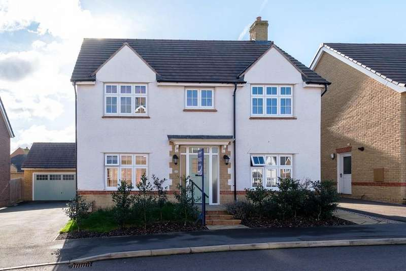 4 Bedrooms Detached House for sale in Longwater, Towcester