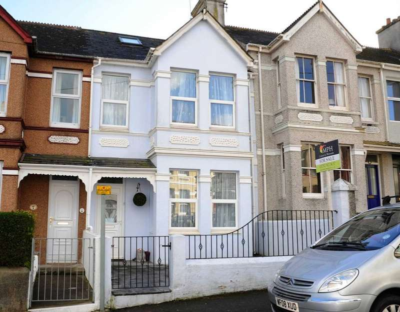 4 Bedrooms Terraced House for sale in Clarence Road, Torpoint