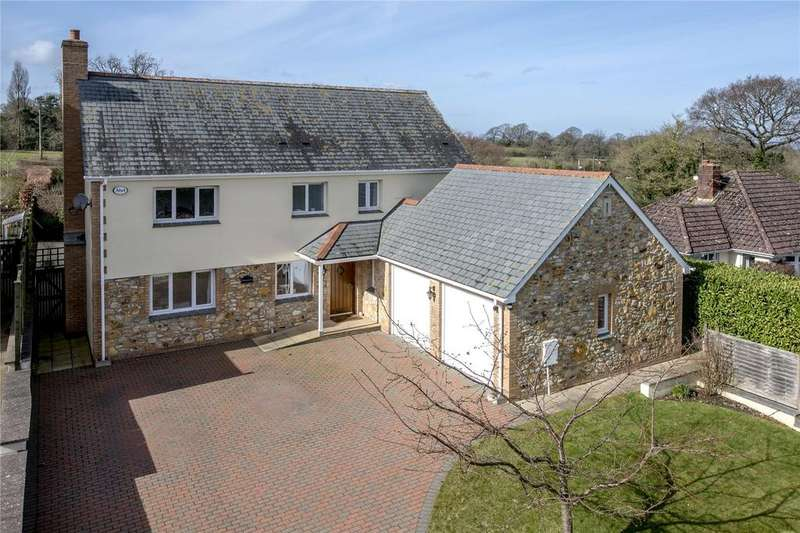 4 Bedrooms Detached House for sale in Blagdon Hill, Taunton, Somerset