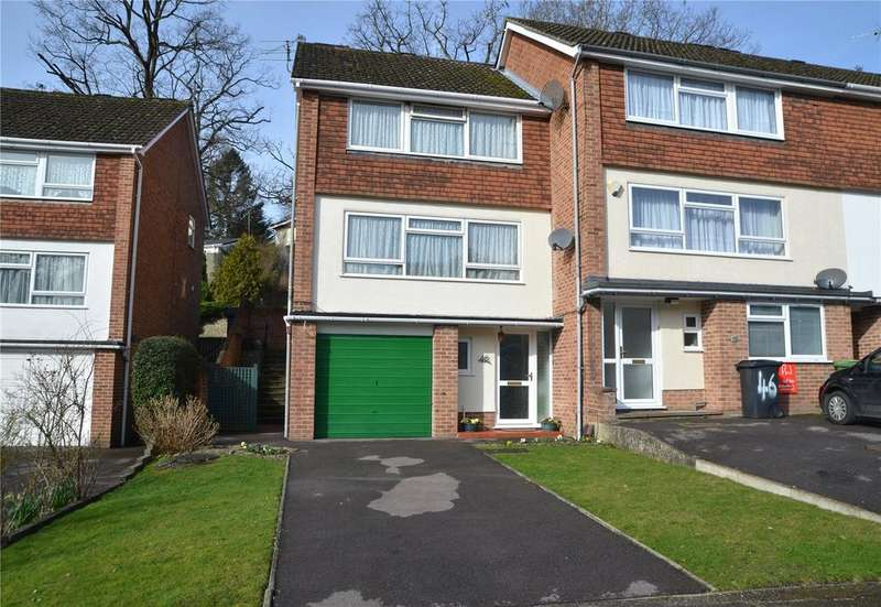3 Bedrooms End Of Terrace House for sale in Starlings Drive, Tilehurst, Reading, Berkshire, RG31