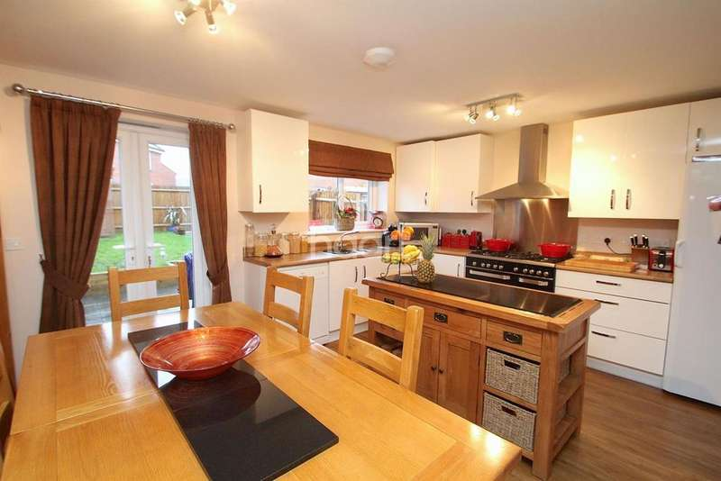 4 Bedrooms Semi Detached House for sale in Grey Meadow Road, Ilkeston