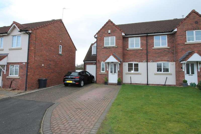 4 Bedrooms Semi Detached House for sale in Helvellyn Rise, Carlisle