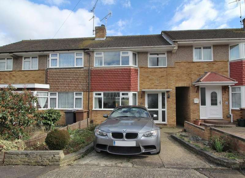 3 Bedrooms Terraced House for sale in Magnolia Close, Chelmsford, Essex, CM2