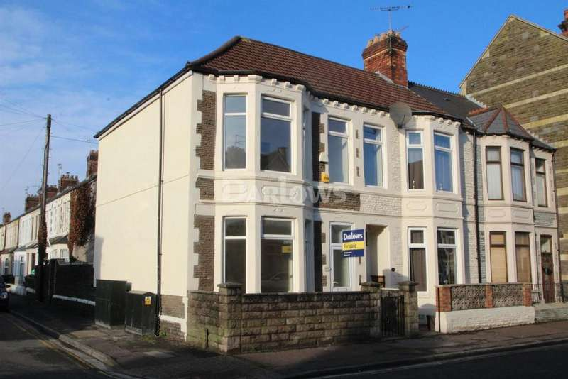 3 Bedrooms End Of Terrace House for sale in Carlisle Street, Splott
