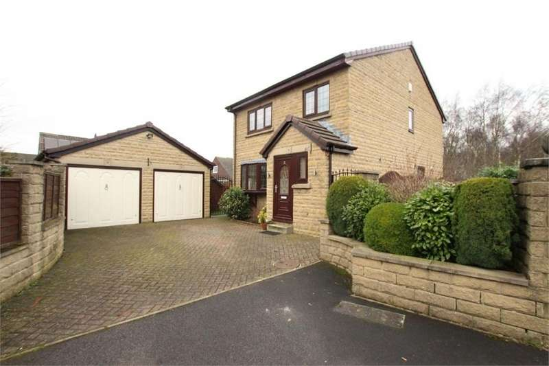 3 Bedrooms Detached House for sale in Manor Park Gardens, Gomersal, West Yorkshire