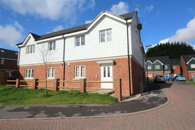 2 Bedrooms Apartment Flat for sale in Bedford Drive, Titchfield Common