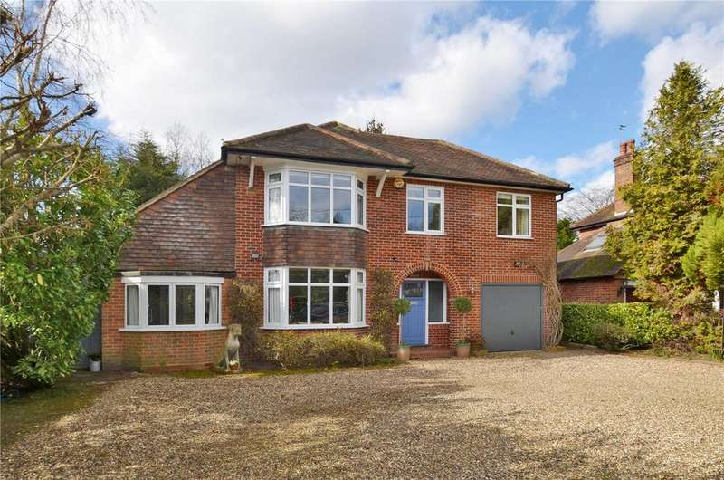 5 Bedrooms Detached House for sale in Luddington Avenue, Virginia Water, Surrey