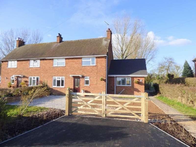 3 Bedrooms Semi Detached House for sale in Longford Lane, Longford, Ashbourne