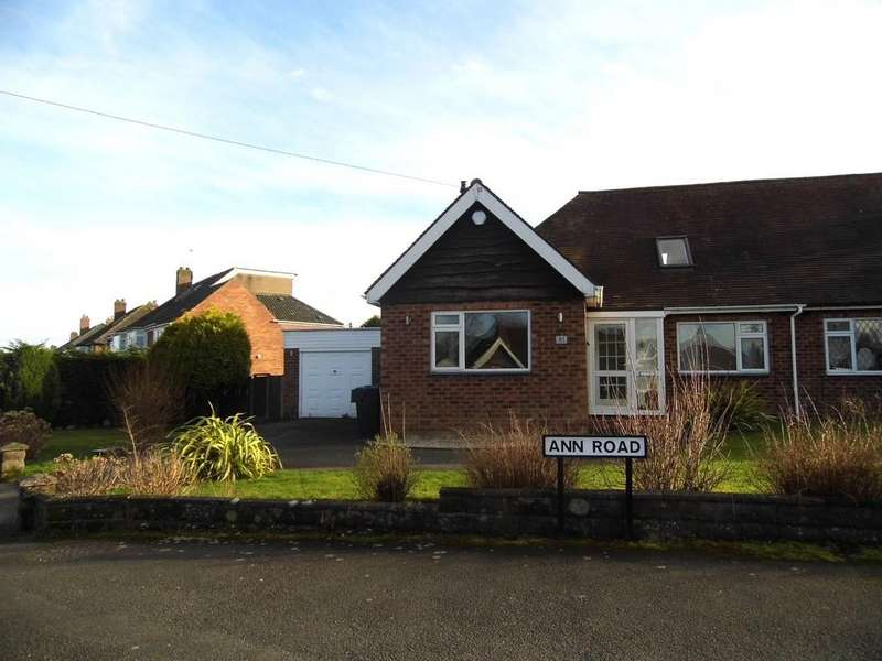 4 Bedrooms Semi Detached Bungalow for sale in Ann Road, Wythall