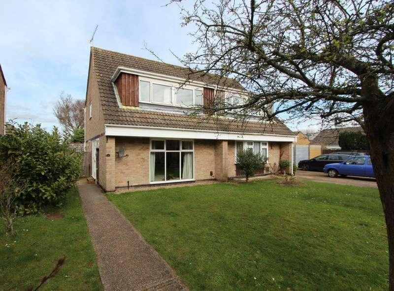 4 Bedrooms Semi Detached House for sale in Rowley Close, Botley SO30