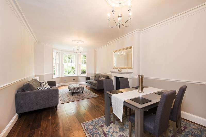 3 Bedrooms Flat for sale in Clifton Road, London W9