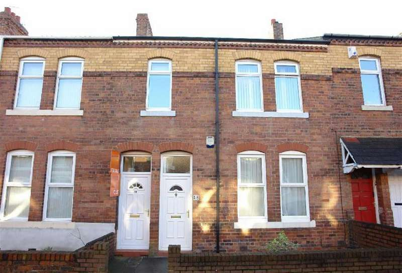 3 Bedrooms Flat for sale in Lansdowne Terrace, North Shields