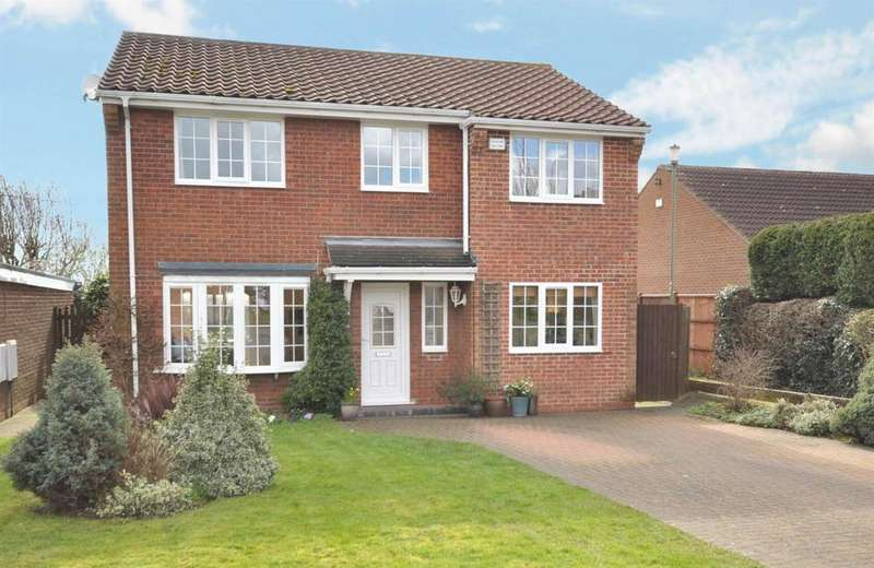 4 Bedrooms Detached House for sale in Ludgate Drive, East Bridgford