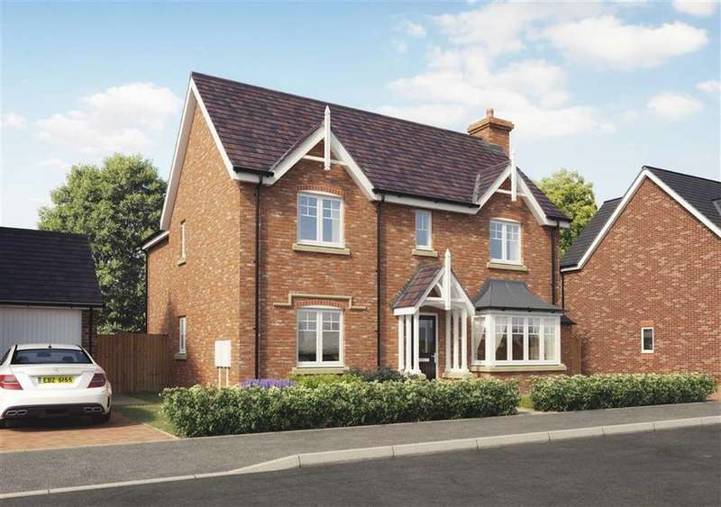 4 Bedrooms Detached House for sale in Church View, Hadnall, Shrewsbury