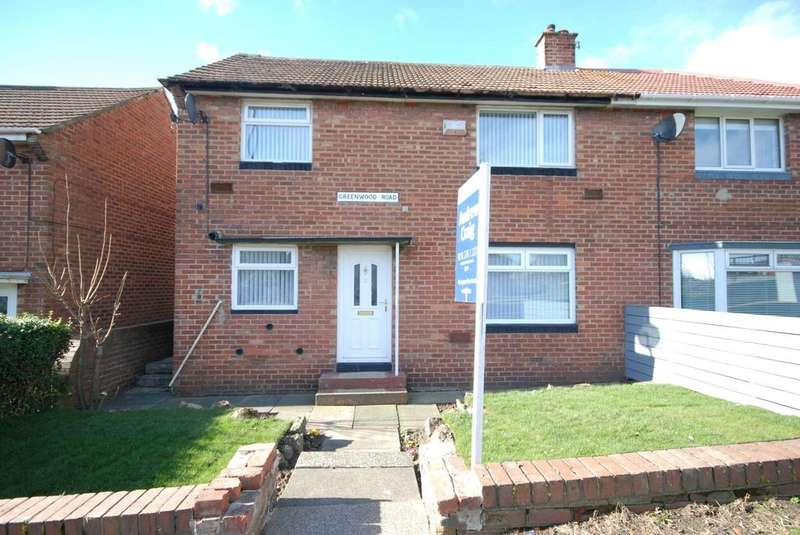 3 Bedrooms Semi Detached House for sale in Greenwood Road, Grindon