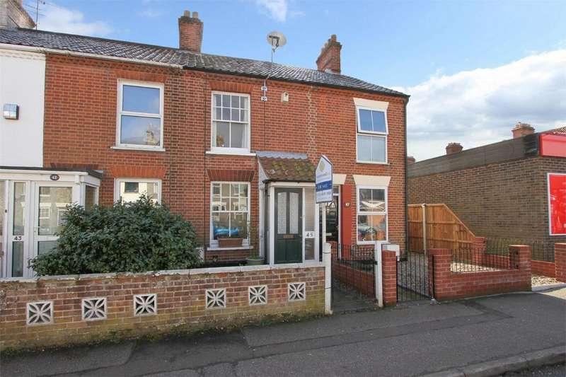 2 Bedrooms Terraced House for sale in Waldeck Road, Norwich, Norfolk
