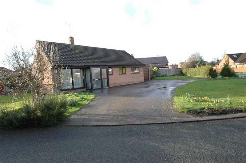 3 Bedrooms Detached Bungalow for sale in Meadowcroft, Off Church Road, Saughall, Chester